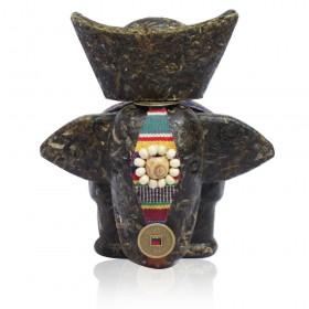 古树飘香茶雕小象