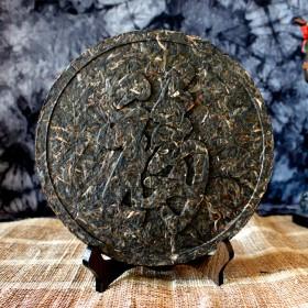 品味古树飘香茶雕 星艺装饰案例工艺茶普洱茶企业定制